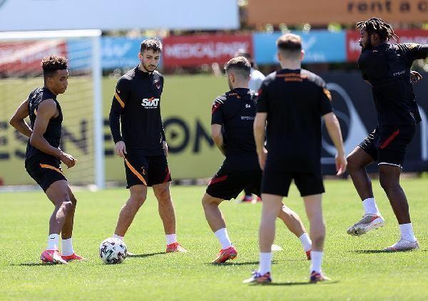 Galatasaray, Denizlispor maçı hazırlıklarını tamamladı