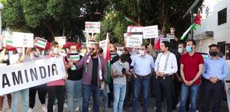 Ak Parti: İsrail'in saldırıları KKTC'de protesto edildi