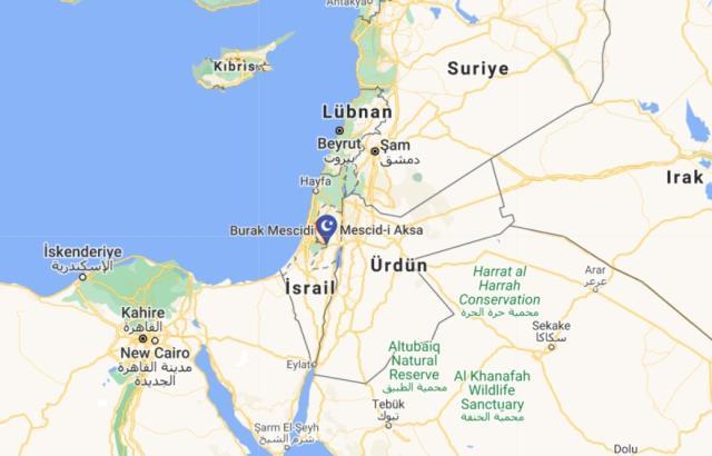 Mescid-i Aksa nerede, haritadaki yeri? Mescid-i Aksa'nın önemi nedir? Mescid-i Aksa haritada nerede? Mescid-i Aksa tarihi!