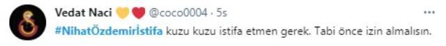 Nihat Özdemir'e tepkiler çığ gibi büyüyor! İstifaya davet edildiği paylaşımlar sosyal medyada gündeme oturdu