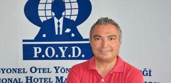 Antalya: POYD BAŞKANI ATMACA: UMUYORUM 1 HAZİRAN'DAN İTİBAREN UÇAKLARI SAYMAYA BAŞLARIZ