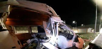 Malatya: Son dakika haberi! Elazığ'daki minibüs kazasında 1 kişi hayatını kaybetti