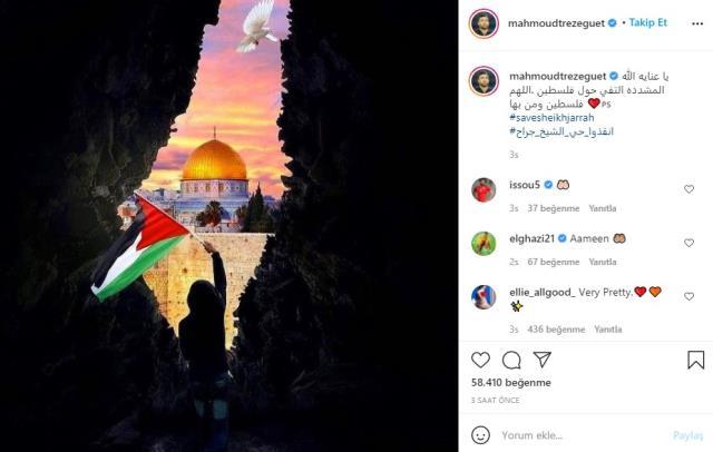Futbol dünyası Filistin için tek yürek oldu! Yıldız futbolcular paylaşımlarıyla İsrail'e tepki gösterdi