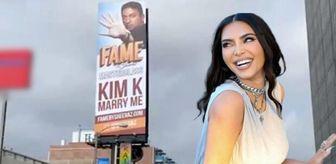 Medya: Hasan'dan Kardashian'a şehrin ortasında evlilik teklifi