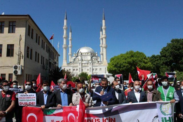 Iğdır'da STK'lardan İsrail'e tepki