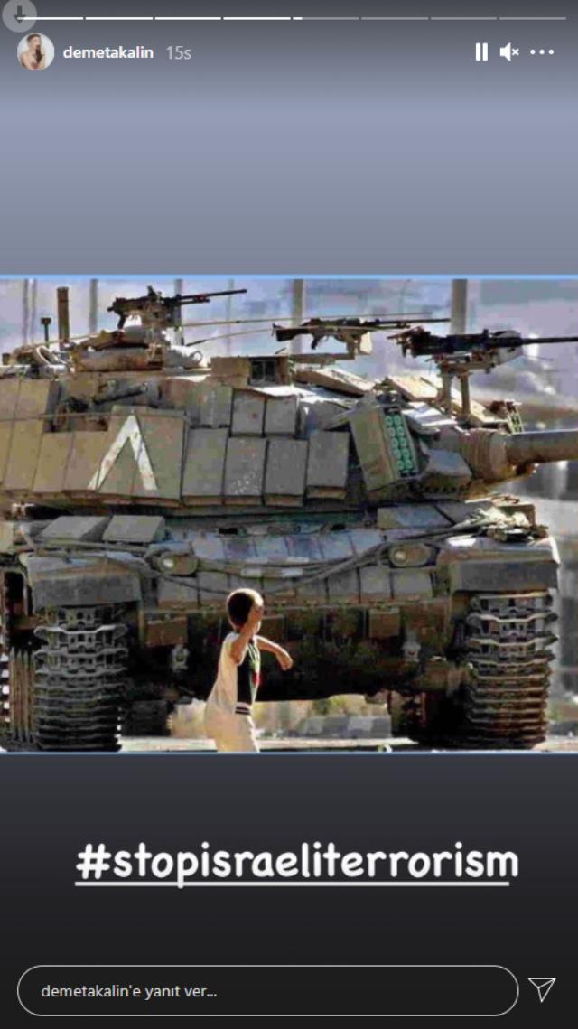 Tek yürek olan ünlü isimler, İsrail'i kınadı