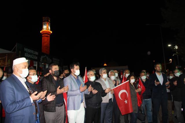 Türkiye tek yürek oldu, Filistin'e destek için sokaklara döküldü
