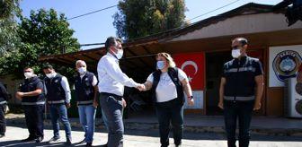 İzmir: Başkan Sandal, tüm personeliyle tek tek bayramlaştı