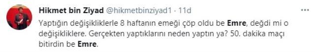 Fenerbahçe taraftarları sosyal medyada kazan kaldırdı! Emre Belözoğlu'na ateş püskürdüler