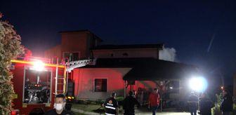 Çilimli: İftar saatinde çıkan yangın büyümeden söndürüldü