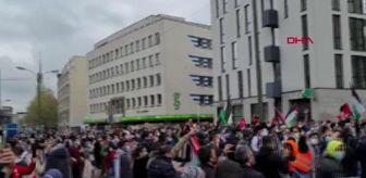 İspanya: İsrail'in Filistinlilere yönelik saldırıları Almanya'da protesto edildi
