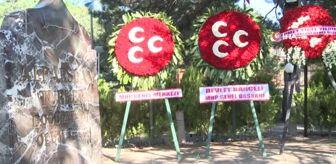 Devlet Bahçeli: Devlet Bahçeli, bayramın ilk gününde Alparslan Türkeş'in kabrini ziyaret etti