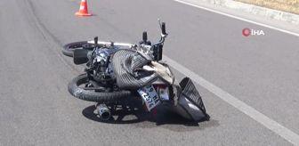 Kilis: - Otomobil motosiklete çarptı: 1 yaralı