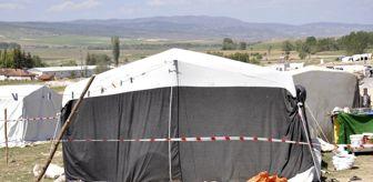 Odunpazarı: Çadırda yaşayan 8 kişilik aile karantinaya alındı