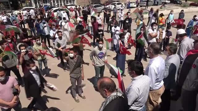 Son dakika! İsrail'i protesto edip gıyabi cenaze namazı kıldılar