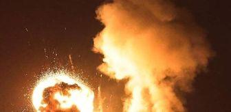 Uçak: Son Dakika | İsrail savaş uçakları Filistin İçişleri Bakanlığı binasını vurdu