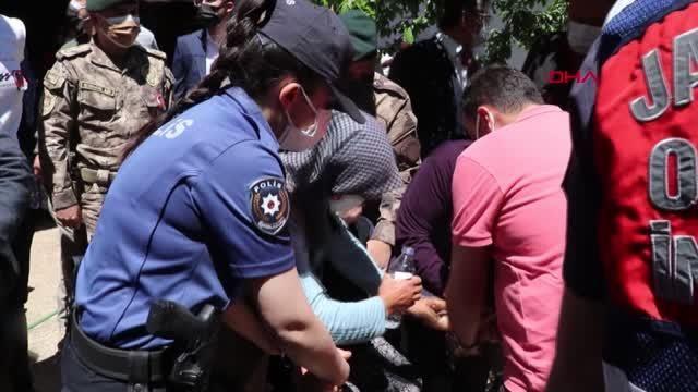 ŞEHİT ÖZEL HAREKAT POLİSİ VELİ KABALAY SON YOLCULUĞUNA UĞURLANDI-2