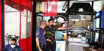 Polis: İş yerine 3 ayda dört kez giren hırsızlar tostçuyu canından bezdirdi