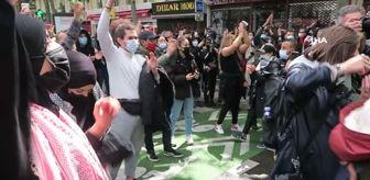 Süleyman Soylu: - Paris'te Filistin'e destek gösterisi