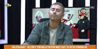 Malatya: 'Yeni Malatyaspor Lig'de kalsın bıyığımı keserim' diyen yorumcu canlı yayında bıyığını kesti