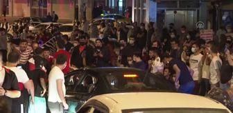 Ankara: Beşiktaşlı taraftarlar şampiyonluğu kutladı