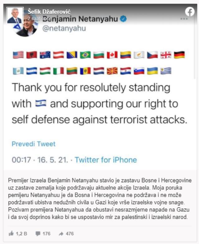 İsrail Başbakanı Netanyahu katliamlarına destek veren ülkeleri açıkladı! Bosna Hersek'ten sert tepki geldi