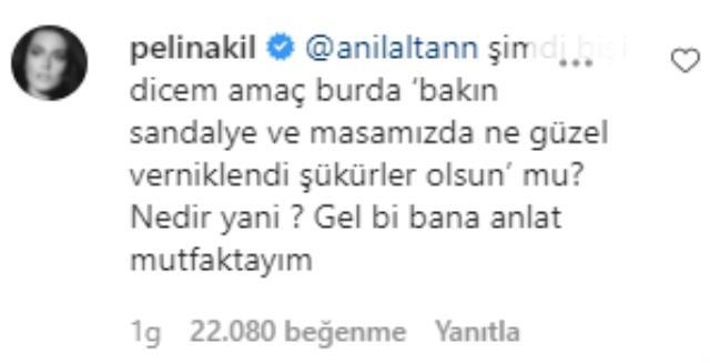 Pelin Akil'den kocası Anıl Altan'ın üstsüz paylaşımına dikkat çeken yorum