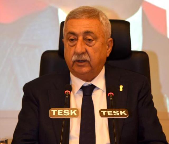 TESK Genel Başkanı Palandöken: 'Karşılıksız hibe desteği ve tüm borçların faizsiz ertelenmesi kaçınılmaz oldu'
