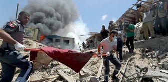 Sağlık Bakanlığı: İsrail'in Gazze'ye düzenlediği saldırılarda 61'i çocuk 212 kişi hayatını kaybetti