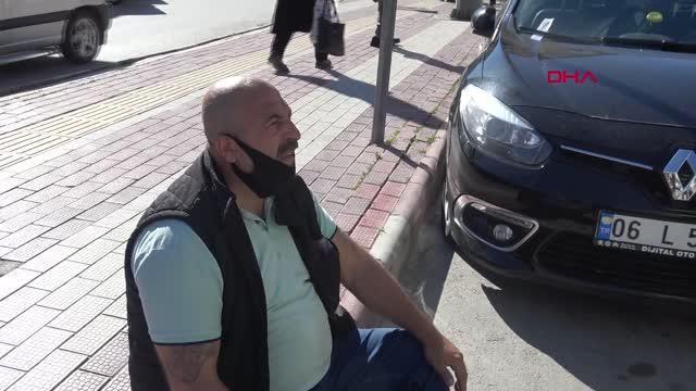 AFYONKARAHİSAR YOLUN KARŞISINA GEÇMEK İSTERKEN OTOBÜS ÇARPTI