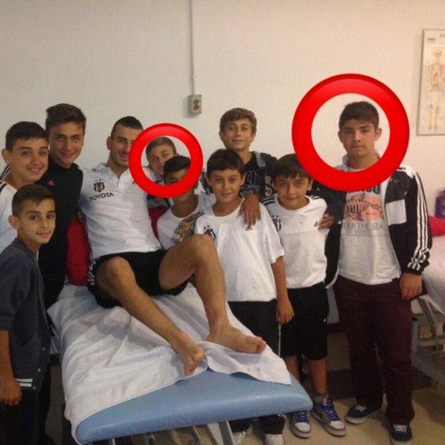 Bu çocuklar Beşiktaş'ı şampiyon yaptı! Çocukluk fotoğrafı sosyal medyada gündem oldu