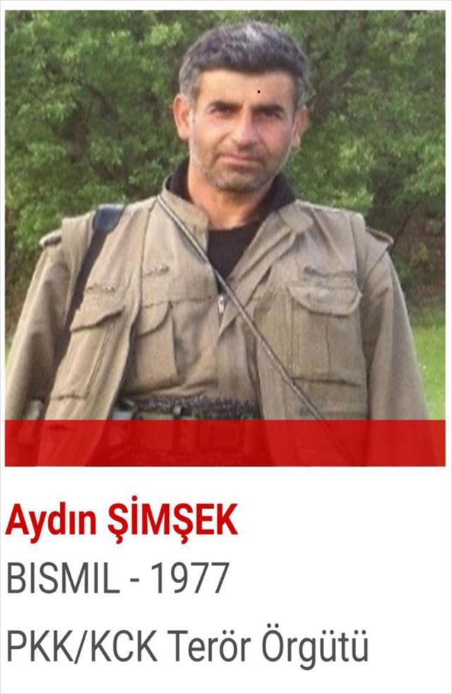 Kırmızı kategoride 10 milyon liraya kadar ödülle aranan terörist öldürüldü