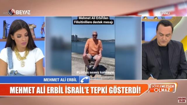 Mehmet Ali Erbil Filistin'e karşı yapılan zulme sessiz kalan ünlülere isyan etti