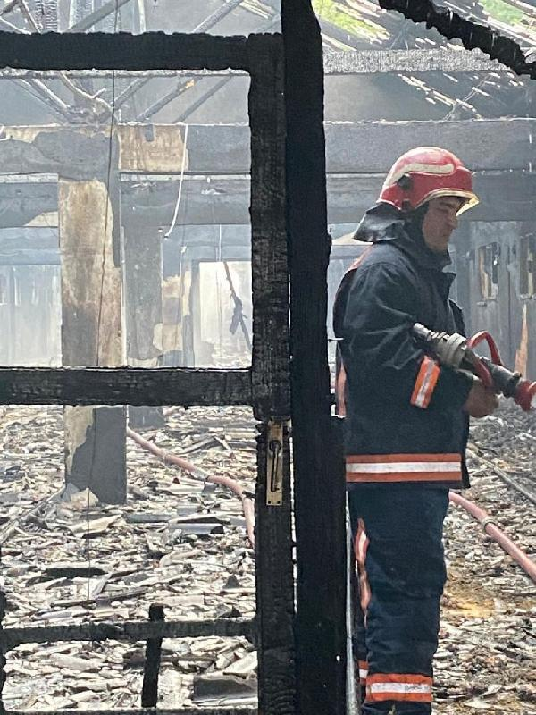 Tavuk çiftliğinde yangın; 10 bin 500 civciv diri diri kül oldu