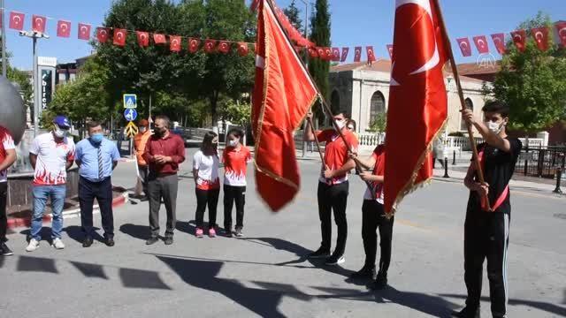 Kale'de 19 Mayıs Atatürk'ü Anma, Gençlik ve Spor Bayramı çeşitli etkinlikle kutlandı