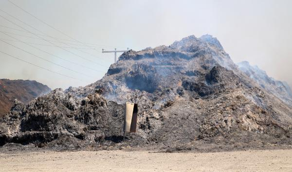 Son dakika! AFYONKARAHİSAR'DAKİ BİYOKÜTLE ENERJİ TESİSİNDE ÇIKAN YANGIN KISMEN KONTROL ALTINA ALINDI