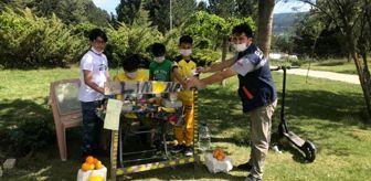 Evliya Çelebi: DPÜ lojmanı çocuklarından Filistin'e destek