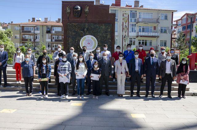 Kahramankazan'da 19 Mayıs Atatürk'ü Anma Gençlik ve Spor Bayramı kutlandı