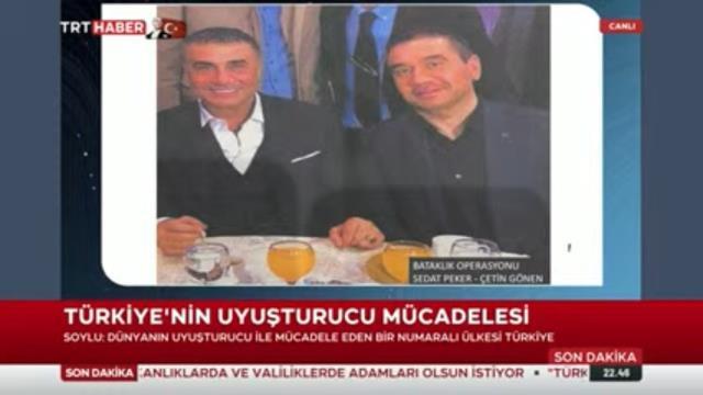 Son Dakika: Bakan Soylu, yakalanan uyuşturucu baronu Çetin Gören'le Sedat Peker'in fotoğrafını paylaştı