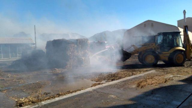 Son dakika haberleri | Kalorifer yakıtı üretilen tesiste yangın çıktı