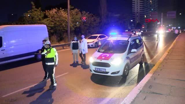 Denetimden kaçan sürücü, otomobiliyle bekçilere çarptı: 1'i ağır 2 bekçi yaralı