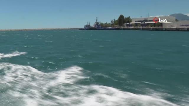 Antalya'da denizi kirleten gemiye 1 milyon 566 bin lira ceza