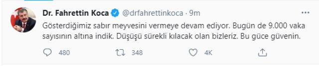 Son Dakika: Türkiye'de 22 Mayıs günü koronavirüs nedeniyle 231 kişi vefat etti, 8 bin 697 yeni vaka tespit edildi