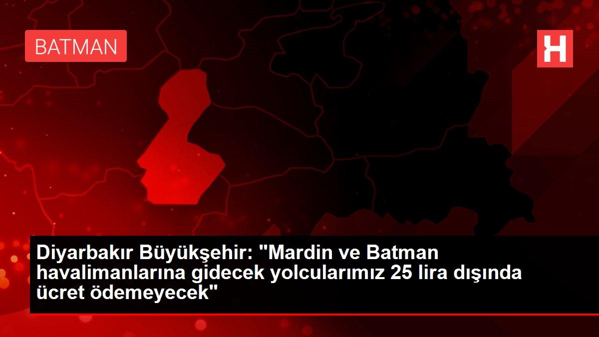 Diyarbakır Havalimanı'ndaki çalışmalar nedeniyle uçuşlar Mardin ve Batman havalimanlarına yönlendirildi