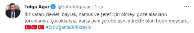 Tolga Ağar'dan Sedat Peker'in iddialarına yanıt: Hodri meydan