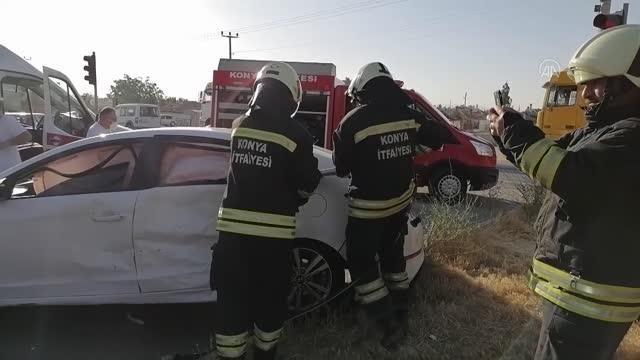 Cip ile otomobil çarpıştı: 6 yaralı