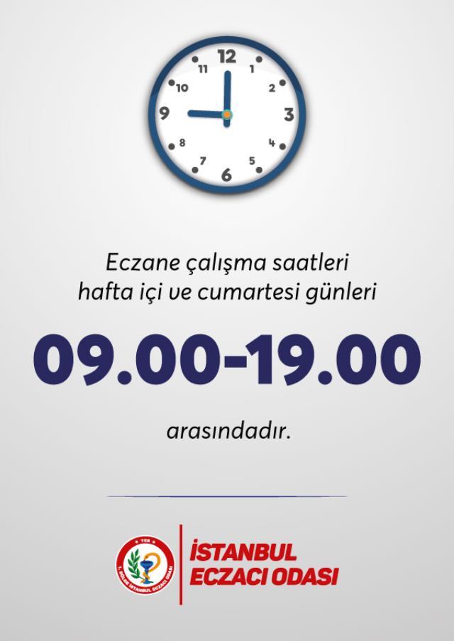 Eczane kapanış saati: Eczaneler kaçta kapanıyor? İstanbul , Ankara, İzmir eczanaler kaça kadar açık?