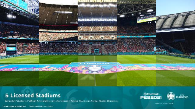 UEFA Euro 2020'ye eFootball PES 2021'in yepyeni içerikleriyle merhaba deyin!