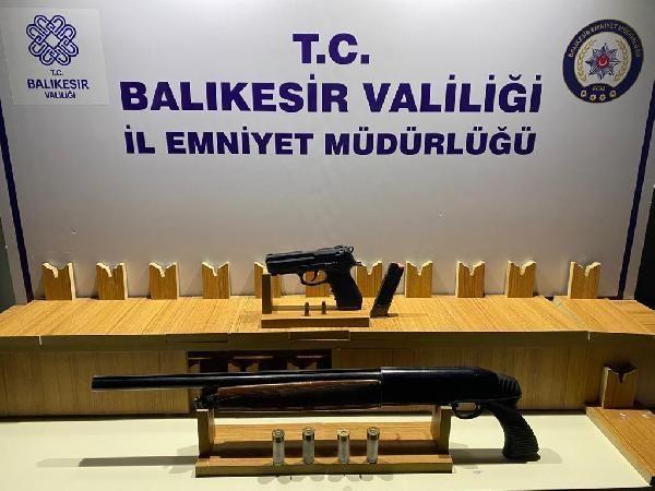 Balıkesir'de huzur uygulamalarında yakalanan 168 kişiden 47'si tutuklandı