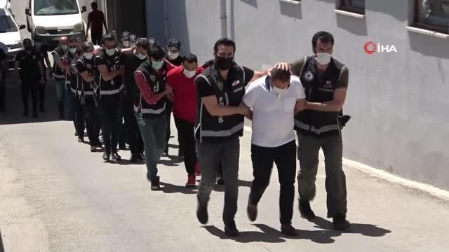 'Sahil Rüzgarı' operasyonunda 4 tutuklama